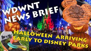 halloween treats and merchandise coming to disney parks this fall
