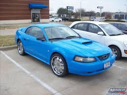mcautobody com photos ford mustang grabber blue code ci
