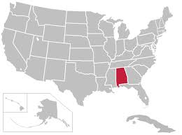 map usa alabama united states map of alabama thempfa org
