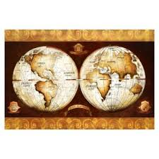 Buy World Map Wall Decor from Bed Bath & Beyond