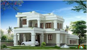 kerala home plans colonial traditional mixed design 14 strikingly