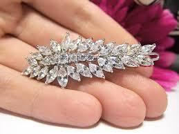 barrette hair clip wedding hair clip wedding hair accessories bridal barrette