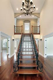 How To Design Stairs 40 Luxurious Grand Foyers For Your Elegant Home