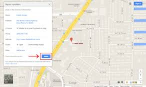 Florida Google Map by How To Fix An Incorrectly Positioned Google Map Marker For A
