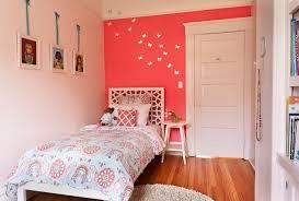 Bookshelves San Francisco coral pattern bedding trend san francisco modern kids decorating