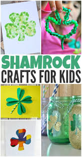fun and festive shamrock crafts for kids to make this st