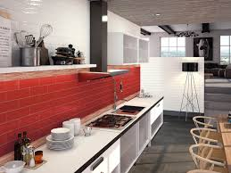 red kitchen backsplash decorating stylish granite sectional kitchen countertop plus