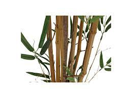 tronc d arbre artificiel arbre artificiel bambou bisseti tronc naturel h 162cm