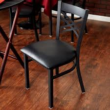 lancaster table and seating lancaster table seating black cross back chair with 2 1 2 padded