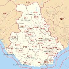 Google Maps Area 51 File Cf Postcode Area Map Svg Wikimedia Commons
