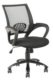 best office desk chair mid back mesh ergonomic computer desk office chair black walmart com