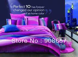 Teal And Purple Comforter Sets Comforter Purple And Teal Comforter Set Queen Twin Microfiber