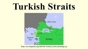 Bosporus Strait Map Turkish Straits Youtube