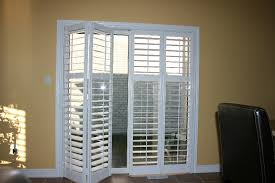 Plantation Shutters On Sliding Patio Doors Enchanting Plantation Shutters For Patio Doors On Sliding Glass