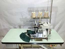 brother 3 4 thread overlock with elastic device industrial sewing