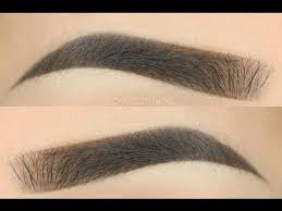 proper way to fill in eyebrows how to perfect eyebrows tutorial byjeannine youtube