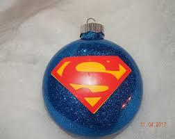superman ornament etsy