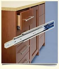 Delectable  Kitchen Cabinet Drawer Guides Decorating Design Of - Kitchen cabinet rails