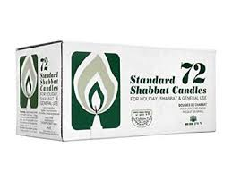 yehuda shabbos candles ner zion 3 hour 72 count shabbat taper candles israeli 20 53