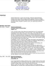 electrician resume template maintenance electrician 10
