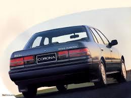toyota corona of toyota corona sedan t170 1987 u201392