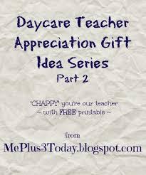 daycare teacher appreciation gift day 2