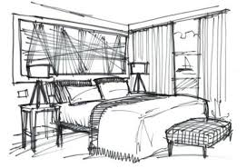 qsketch interior design cliff house hotel sketches interior