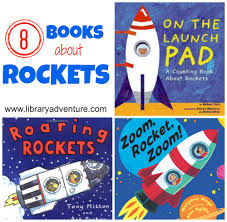 8 books about rockets