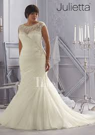 plus size wedding dresses with sleeves tea length fancy chagne colored plus size wedding dresses 14 in tea length