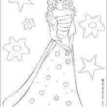 barbie mermaid coloring pages hellokids
