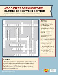 banned books week crossword puzzle penguin random house