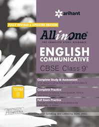 all in one english communicative cbse class 9th term ii amazon in