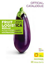 fruit logistica official catalogue 2015 by fruchthandel magazin