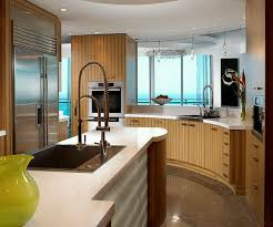 modern wooden kitchen designs stylish two tone cabinet utilizing