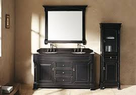 black bathroom vanity with marble top black bathroom