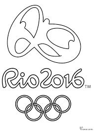 Coloriage Jeux dOlympique 2016 à imprimer et colorier