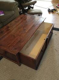 20 sec tidy up coffee table with trundle toy box storage i want