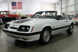 mustang gt 1986 oxford white 1986 ford mustang gt for sale mcg marketplace