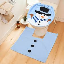 Christmas Bath Mat Set by Online Get Cheap Christmas Toilet Cover Aliexpress Com Alibaba