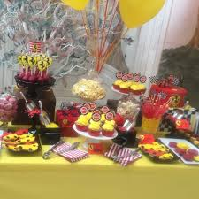 Yellow Table L And Yellow Dessert Table Buffets L Sweetie