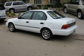 toyota corolla sedan 1993 buy used 1993 white toyota corolla clean in plano