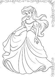 Coloriage De Princesse Colorier Fantastique Modle Coloriage