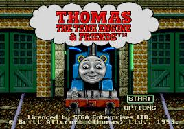 thomas tank engine friends ssega play retro sega genesis
