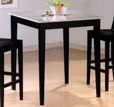 granite top round pub table dining room decorations granite top pub table and chairs inside bar