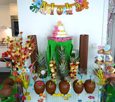 bring hawaiian decorations into the tropical residential the