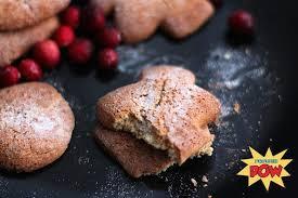 three ingredient christmas protein cookies