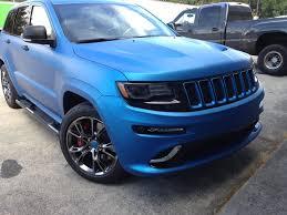 matte tiffany blue jeep matte blue wraps wrapfolio