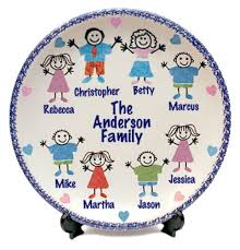 personalized family platters personalized family platters ideas