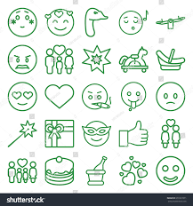 champagne emoji happy icons set set 25 happy stock vector 651027871 shutterstock