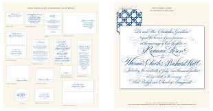 Guest Invitation Card Honoured Guest Calligraphy Wedding Invitations